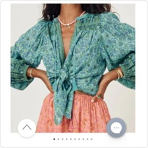 NWT Spell & The Gypsy Collective Sundown Blouse M